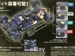 Nouveau Très Rare Kyosho Mini-z Racer Body & Chassis Set Mclaren F1 Gtr Du Japon F / S