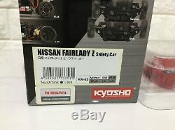 Nouveau Très Rare Kyosho Mini-z Racer Body & Châssis Set Nissan Fairlady Z Du Japon