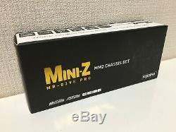 Nouveau Très Rare Kyosho Mini-z Racer Mr-pro 03ve Mm2 Châssis Set Du Japon F / S