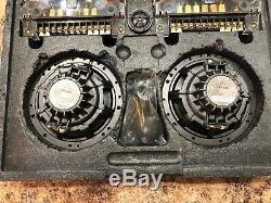Old School Mb-216 Pintes Qsd Allemagne Composants! Rare 6.5 Q Set! Très Agréable