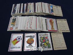 Panini Wc Wm 1982 Espana 82, Sticker Set Complet / Komplettsatz, Rare, Très Bon
