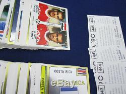 Panini Wc Wm 1990 Italia 90, Sticker Set Complet / Komplettsatz, Rare, Très Bon