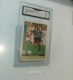 Panini Zidane Très Rare Set De 10 Cards Near Mint Condition 1996 À 2004 Psa