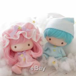 Petit Twin Stars En Vinyle Souple Poupée Set Kikilala Très Rare Sanrio Japon F / S