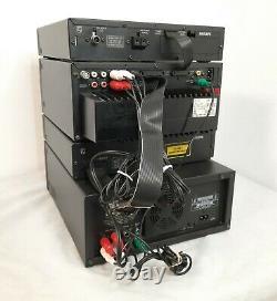 Philips Kit Hi-fi Avec Enregistreur DCC 91 Modèle Fw 91 Très Rare