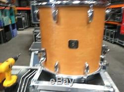Pièce Gretsch Natural Maple Oiseaux Eye 4 Drum Set Tres Rare
