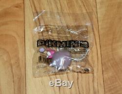 Pikmin 3 Nintendo Wii U 2013 Très Rare Ensemble Complet De Keychain Bleu Rose Roche