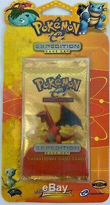 Pokemon Expédition Set Blister Pack Sealed Charizard Banquise Très Rare 1995 -2002
