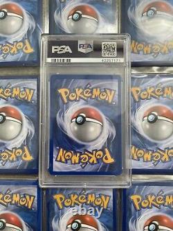 Pokemon Psa 10 Set De Base Joues Jaune Pikachu Tres Rare 58/102