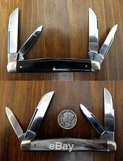 Poule Et Coq, Très Rare 10 Couteau De Poche Set 1865-1976-111 Ans. Monnaie En Cas