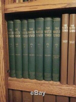 Rare Originale Très Belle Tour De Guet Pleine Réimpressions Set 1919