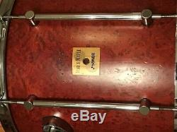 Rarissime Vintage Tulip Sonor Force De Red Maple Drum Set Très Belle