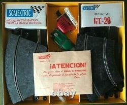 Scalextric Tri-ang Set Gt20. Jaguars De Type E. Très Rare 1970 Ensemble Espagnol, Inutilisé