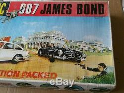 Scalextric Vintage James Bond 007 Créé Très Rare. Voitures De Travail Testé Fines