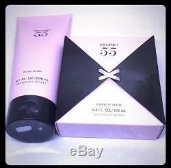Secret, Authentique Victoria 55 Ensemble (6,7 Oz Body Wash / Parfum 3.4 Floz) Très Rare