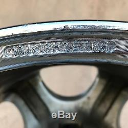 Set Très Rare De 4 Bmw Antera 123 18 Roues Chrome Jantes Set
