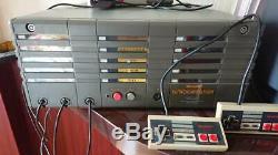 Sharp Famicomstation Famicom Box Avec 10 Set Jeu D'arcade Console De Jeu Très Rare