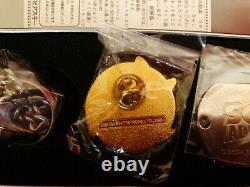 Sonic Adventure Dreamcast 1998 Japonais Promo Dog Tag & Pin Set! Très Rare
