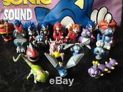 Sonic Et Knuckles Figure Badniks Tomy 1994 Sega Très Rare Ensemble Complet Tous Les 20
