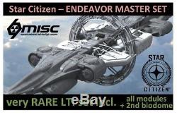 Star Citizen Endeavour Lti Master Set Tres Rare Lti Set