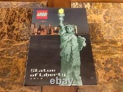 Statue Lego De La Liberté 3450 Sculptures 100% Complète Très Rare