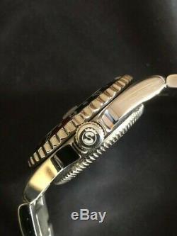 Steinhart 39mm Coke Gmt Ancien Logo + Bracelet De Rechange Nos Y Compris L'ensemble Complet, Très Rare 2007