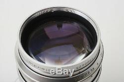 Steinheil 75mm F1.5 Culminon M42 Universel Montage À Vis 75 / 1,5 Set Lens + Tres Rare