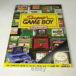 Super Nintendo Super Nes Super Game Boy Set Très Rare Complet En Boîte-testé
