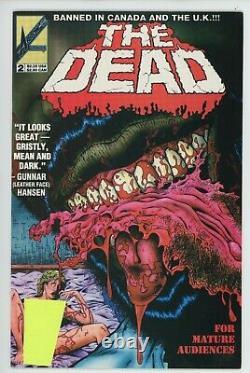 The Dead Rare! 2-set #1 #2 Arrow Comics 1993 Très Explicite 18+