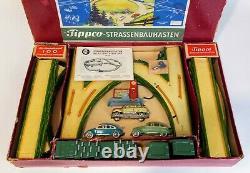Tippco, Strassenbaukasten Road-building-set No. 797, 1952, Very Rare, Excellent