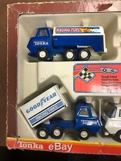 Tonka 1978 1015 Set De Course Dans La Boîte! Très Rare Piece