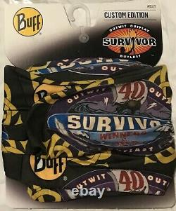 Tous Les 4 Original Yara, Dakal, Sele Et Koru Survivor Buffs. Nwt Set Tres Rare