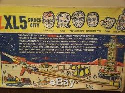 Très Rare 1964 Mpc Steve Zodiacs Fireball Xl5 City Space Ensemble De Jeu