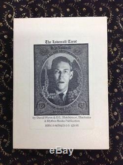 Très Rare 1ère Édition H. P. Lovecraft Set Tarot