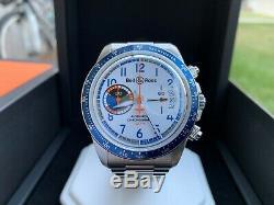 Très Rare Bell & Ross Br V2-94 Racing Oiseaux Chronographe Ltd Ed Full Set Montre