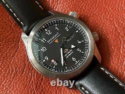 Très Rare Bremont Martin Baker Mbii Anthracite Grey Edge Watch En Full Set