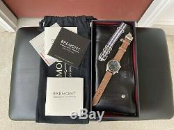 Très Rare Brémont U2 Timeless Limited Edition Cadran Noir En Full Set