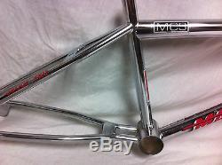 Tres Rare Chrome 1993 Mcs Magnum Group Pro Cadre Cr-mo & Fourchettes Old School Set Bmx
