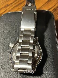 Très Rare Citizen Promaster Ny0098-84e Fugu Jdm Automatic Divers Watch & Box Set