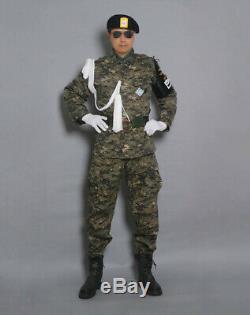 Très Rare De Corée Et U. Ensemble S De L'armée Camouflag Uniforme