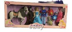 Très Rare Exclusive Disney Store Sleeping Beauty Doll Deluxe Set 12 Pouces Sealed