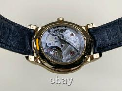 Très Rare H. Moser & Cie Rose Or Endeavour Montre Lune 1348-0100 Full Set