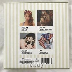 Très Rare Lana Del Rey Les Singles Français Fnac Exclusif 4 X 7 Coffret