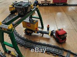 Très Rare Lego City Motorisé Cargo Train 100% Complet 7939 Avec La Boîte Vgc