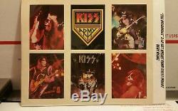 Très Rare! Les Originaux Baiser 3 Lp Inserer Feuille De Carte Non Coupée De Son 1970