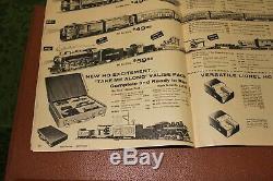 Très Rare Lionel Utilisé Ho 1961 Take Me Along Pack # 5767 Valise Train Électrique