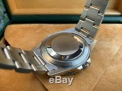 Très Rare Montre Rolex 16710 Gmt-master II Vintage 1990 1990 Dans Un Ensemble Complet