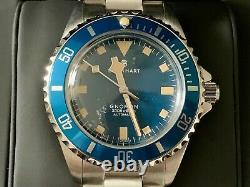 Très Rare Nouveau Steinhart Ocean 39 Marine Blue Edition Limitée En Full Set