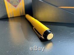 Très Rare Parker Duofold Mandarin Jaune Limited Edition Fountain Pen Full Set