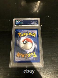 Très Rare Psa 9 1999 Pokemon Base Set Unlimited Mewtwo Holo 10/102
